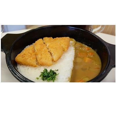 Japanese Curry Fish Mixbowl Combo AW Gambar 1