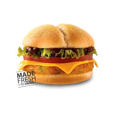 Veggie Burger AW Gambar 1